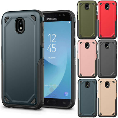 Hybrid Shockproof Silicone Hard Case Cover For Samsung Galaxy J2 Pro 2018 J250