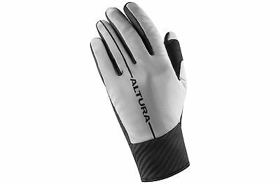 Altura Mens Thermo Elite Full Finger Cold Weather Cycling Gloves Black & Silver