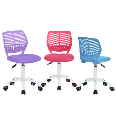Ajule Mesh Children Student Task Chair Computer Desk Pink Purple Blue
