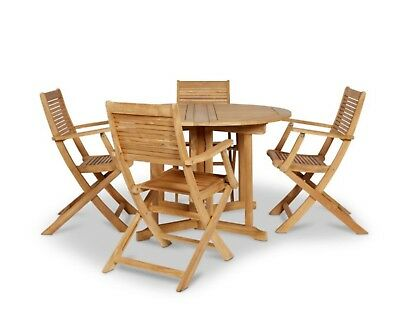 Superbe Roscana Blooma Wooden Garden Table And Chairs   Foldable. PRICE £339 At Bu0026Q!