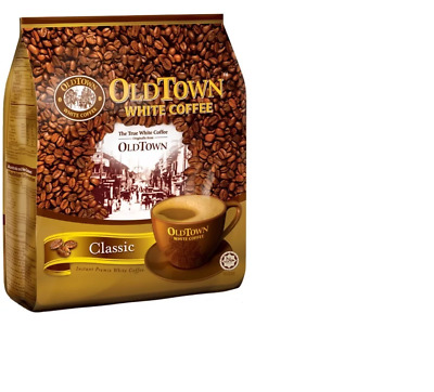 2pcs X Genuine Old Town Instant White Coffee 3 in 1 Classic Coffee 600g