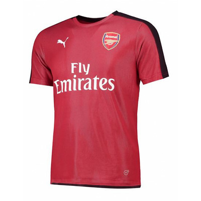 Puma Arsenal Training Stadium Shirt 2018/19 - Red - Mens
