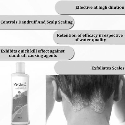 HERBAL MEDICATED SHAMPOO TREATMENT FOR  DANDRUFF PSORIASIS ITCHY DRY SCALP 200ml