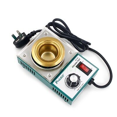 150W Solder Pot Tin Melting Furnace Thermoregulation Soldering Bath 38mm 220V