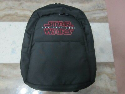 Star Wars The Last Jedi School Backpack Bag * Official Genuine Movie Promo * NEW