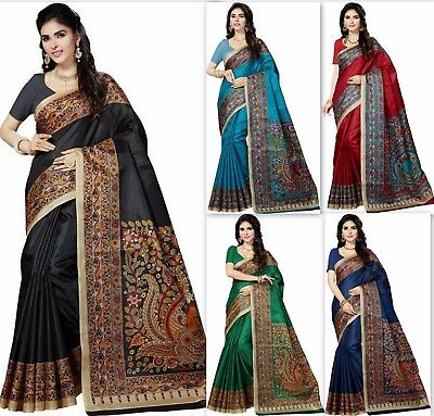 pakistani saree cotton silk Bollywood indian designer sari ethnic traditional bf