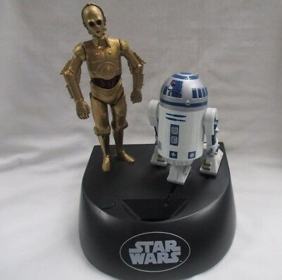 ThinkWay 1995 Star Wars Electronic Coin Bank- R2D2/C3PO- Working- Make Offer