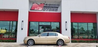 2010 Bentley Continental Flying Spur  2010 FLYING SPUR SPEED - 1 OWNER FLORIDA CAR - RARE COLORS - AMAZING