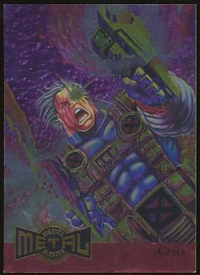 1995 Marvel Metal Blaster Trading Card #1 Cable
