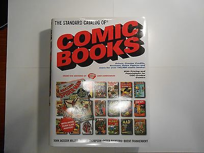 The Standard Catalog Of Comic Books!!! Limited Edition!!! Signed FOUR TIMES!!!