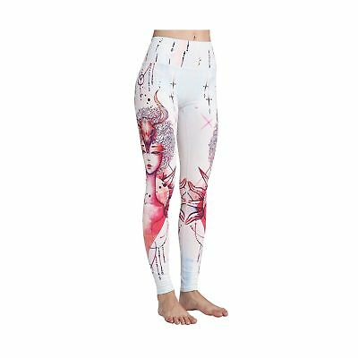 MTSCE Yoga Pants 12 Constellations Printed High Waisted Yoga Leggings For Fit...
