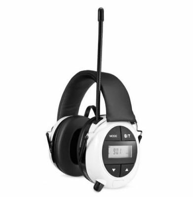 Safety Works Bluetooth Hearing Protection AM/FM Radio MP3 - NEW