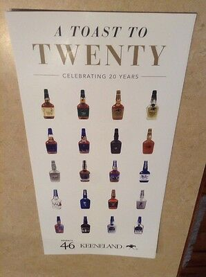 Maker's Mark 20 Year Poster Keeneland