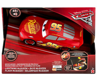 Lightning Mcqueen Cars 3 Movie Moves Vehicle - Lights and Sound - Disney Pixar