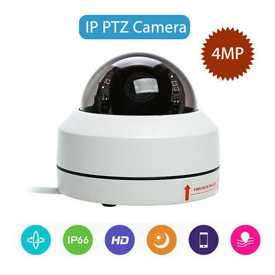 IP/Network Wired PTZ Camera 4MP FHD 1080P 3x Zoom Onvif Speed Dome Security Cam