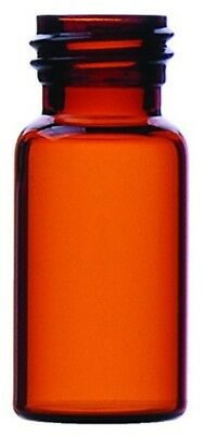 Wheaton 102030 Diagnostic Vial, Type 1B Glass, Amber, 5 mL (Pack of 320)