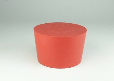 Neolab 1Rubber Bungs x 65mm x 56mm x 45mm high) in Red