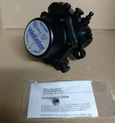 NEW Webster 22R221C-5C3 2-Stage CCW Fuel Oil pump ONLY 3450rpm 100psi 70gph