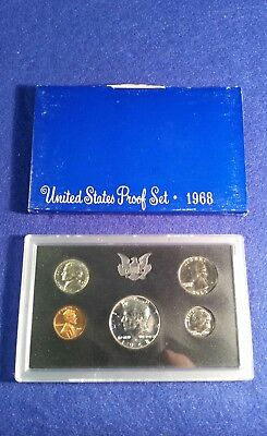 1968 US Proof Set in Original Mint Packaging - FREE SHIPPING