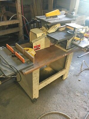 Kitty K5 Woodworking Combi Machineplaner Thicknesser Table Saw