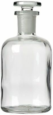 Select BOT64040 Reagent Bottle with Stopper, Narrow Mouth, Clear (Pack of 10)