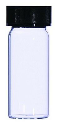 Wheaton 152061 Squat Form Dram Vial, Type 1B Glass, 7 mL (Pack of 264)