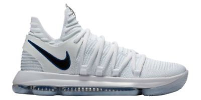 c86ff19efd4f Nike Zoom KD10 Basketball Shoes Size 11 White Black 897815 101 Kevin Durant