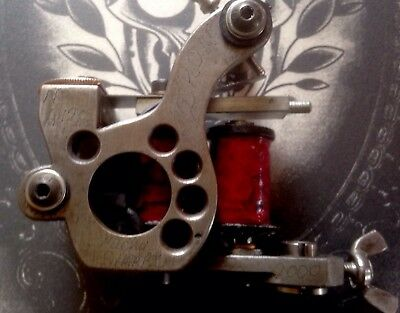 Micky Sharpz Liner Machine Rebuilt With Jay Addictive Coils Aaron Cain Springs ,
