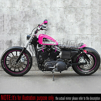 GBno1 Missie black pink wing mirror Emark for H-D Night Rod Special VRSCDX