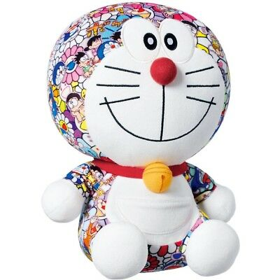 Uniqlo x Doraemon x Takashi Murakami Plush Toy