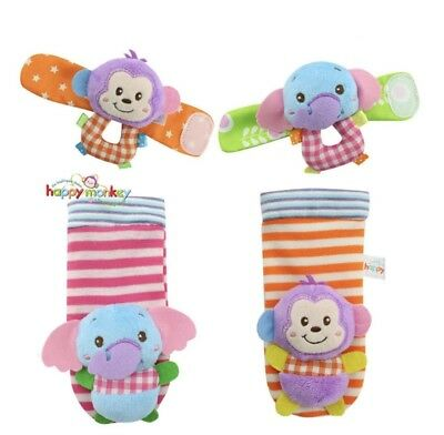 baby rattle socks and wrist bands