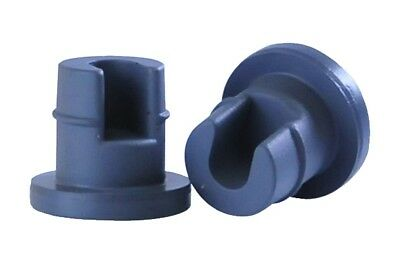Wheaton 600005 Freeze Dry Stopper for Diagnostic Vial, Butyl Rubber (Pack of 100