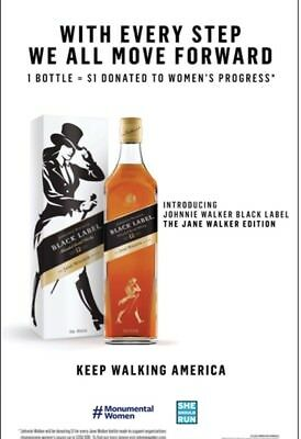 Johnnie walker Jane Poster 24 By 36inch New