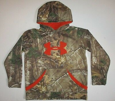 Under Armour Storm Fleece Camo Youth Hoodie YMD Realtree Xtra