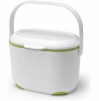 Addis Plastic 3L Compost Caddy - Green and White. From the Argos Shop on ebay