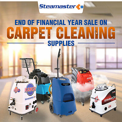 MASSIVE END OF FINANCIAL YEAR SALE ON RIGHT NOW! Carpet Steam Cleaning Equipment