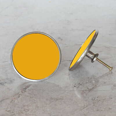Decorative Yellow Cupboard Cabinet Door Knobs Handles Pull In Shades of Yellow
