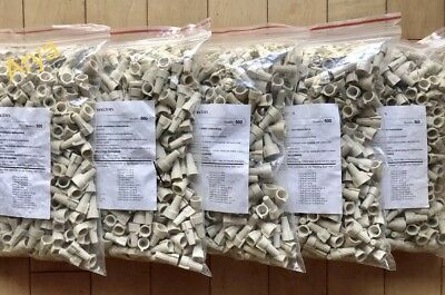 (5) 500 Bags Totaling 2500 Pieces Tan Wire Nuts