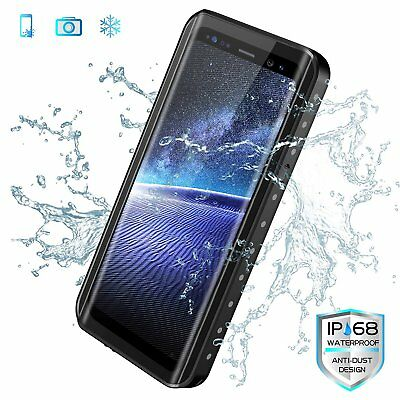 Galaxy S9 Plus Shockproof Waterproof Case Screen Protector for Samsung S9+