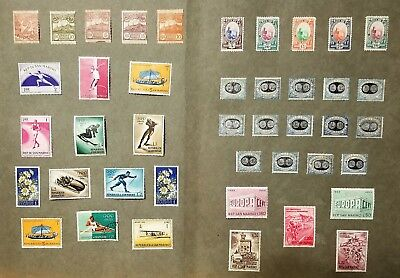 Small collection of San Marino Stamps in Mint and MNH Very NICE!