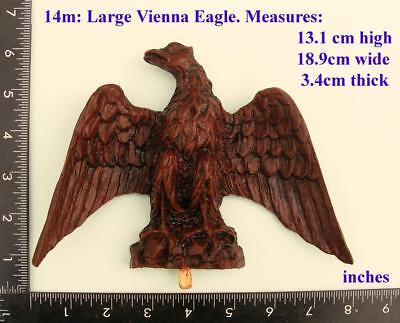 14m Gustav Becker replacement Eagle for Vienna regulator clock cases,  DIY,