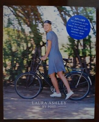 x2 Vintage Laura Ashley Catalogues - By Post Spring 1997 & Home Furniture 1999
