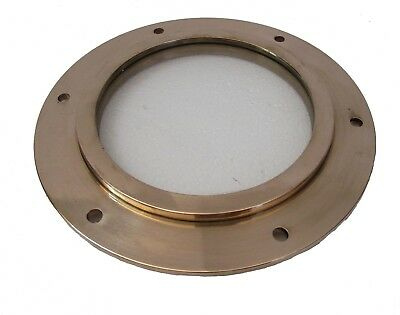 Marine BRASS PORT HOLE / Window / Porthole - NICE ONE - 100% SATISFACTION (5219)