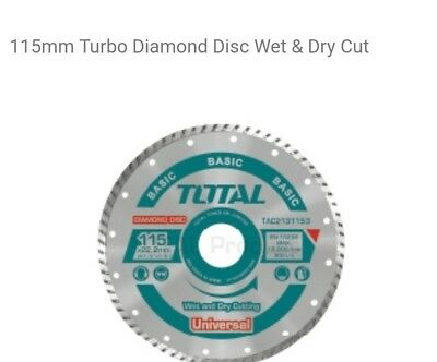 Ceramic Tile Turbo Thin Diamond Wet/Dry Cutting blade/Disc Grinder wheel 115mm