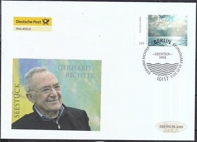 BRD 2013 Deutsche Post FDC MiNr.3020  Gerhard Richter