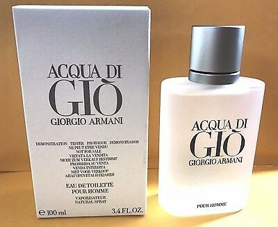 Acqua Di Gio 3.4 Oz Men Spray edt Cologne Giorgio Armani New Authentic