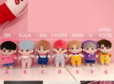 BTS Special Bobi Plush V JIMIN SUGA RM JUNGKOOK J-HOPE Doll + clothes【in stock】