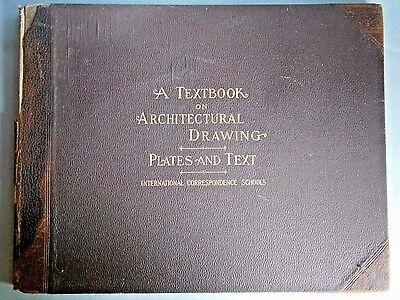 A Textbook On Architectural Drawing - Plates and Text copyright 1901