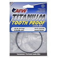 AFW Titanium Tooth Proof Leader Wire
