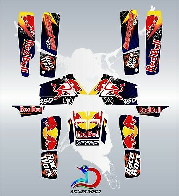 Yamaha banshee full graphics kit sticker